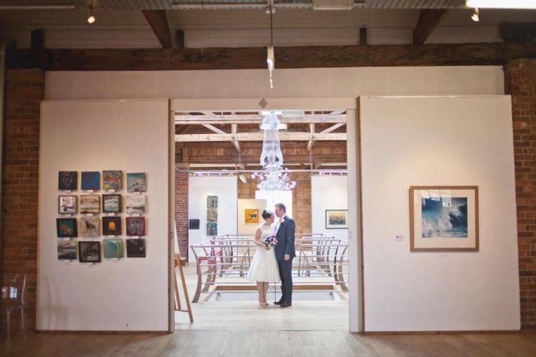 art gallery biscuit factory wedding -12