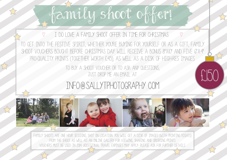 family shoot offer